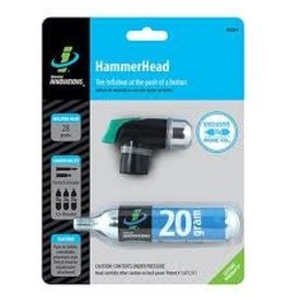 Genuine Innovations Pump INN Co2 Hammerhead W/20g Cartridge