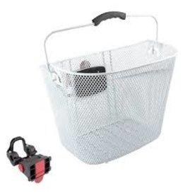 SUNLITE Basket Mesh Q/R White 22.2/31.8 W/Bracket
