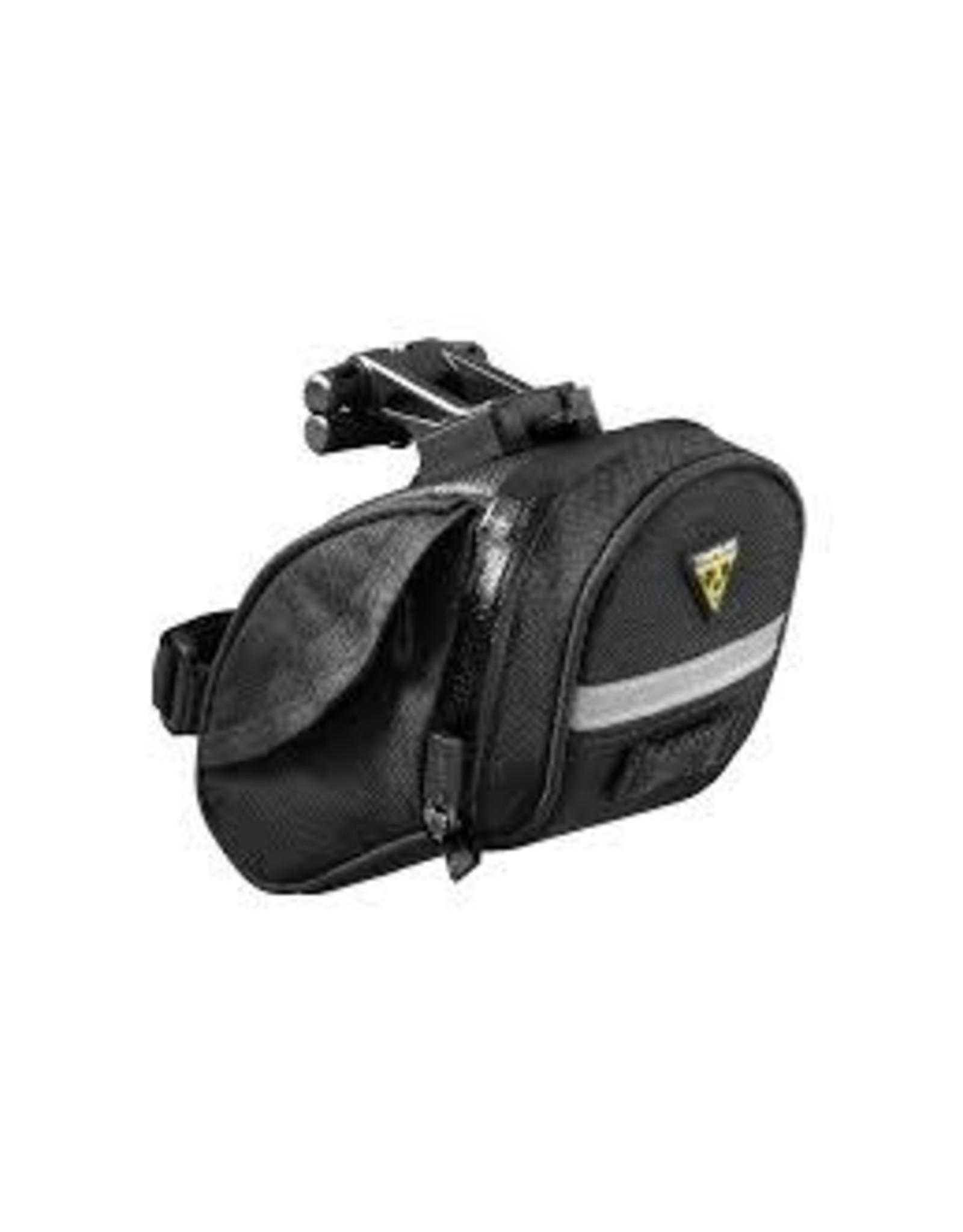 Topeak Bag Topeak Aero Wedge DX Seat Bag - QuickClick, Medium, Black