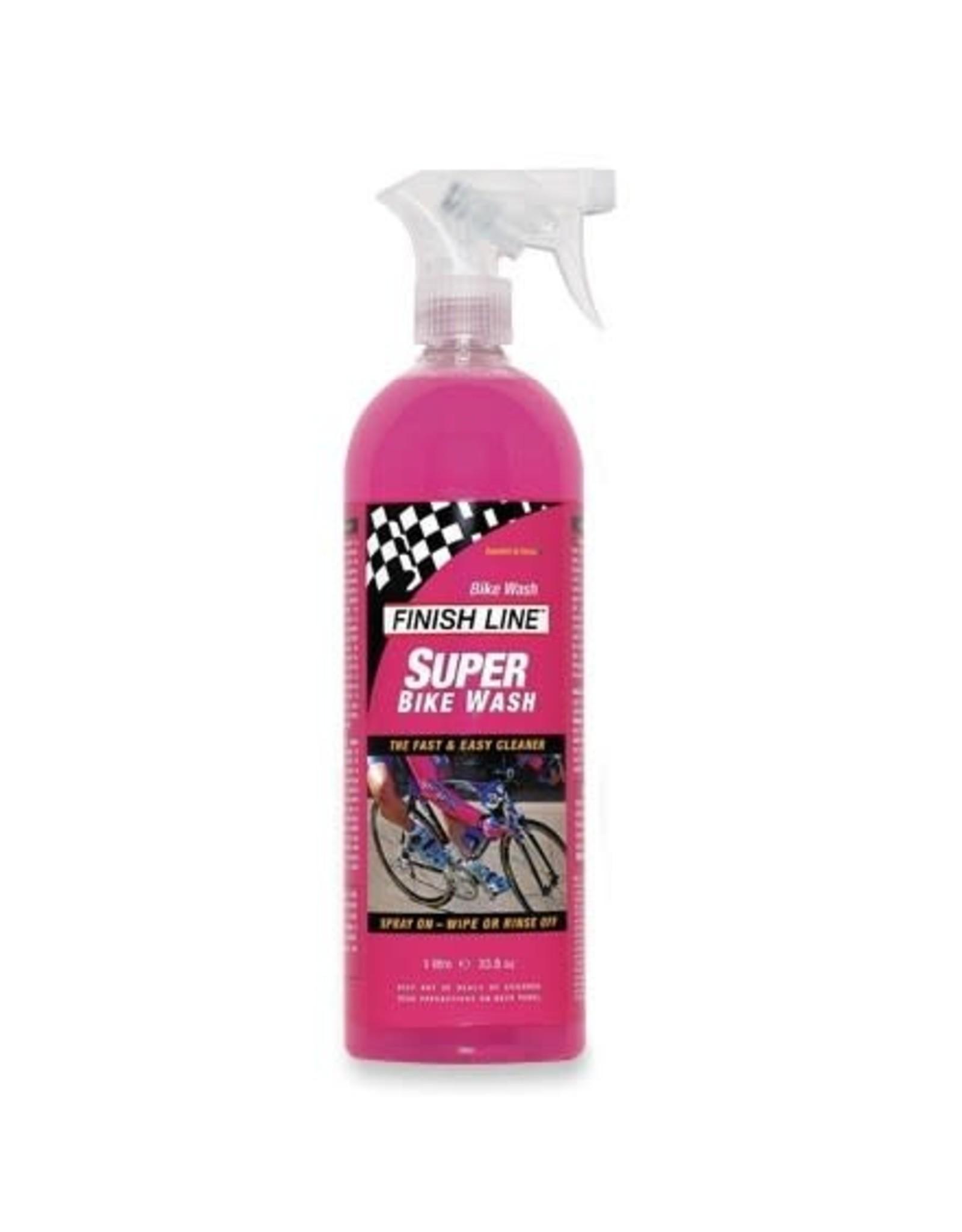 Finish Line Bike Wash Finish Line 1 Litre Spray 6/cs Single