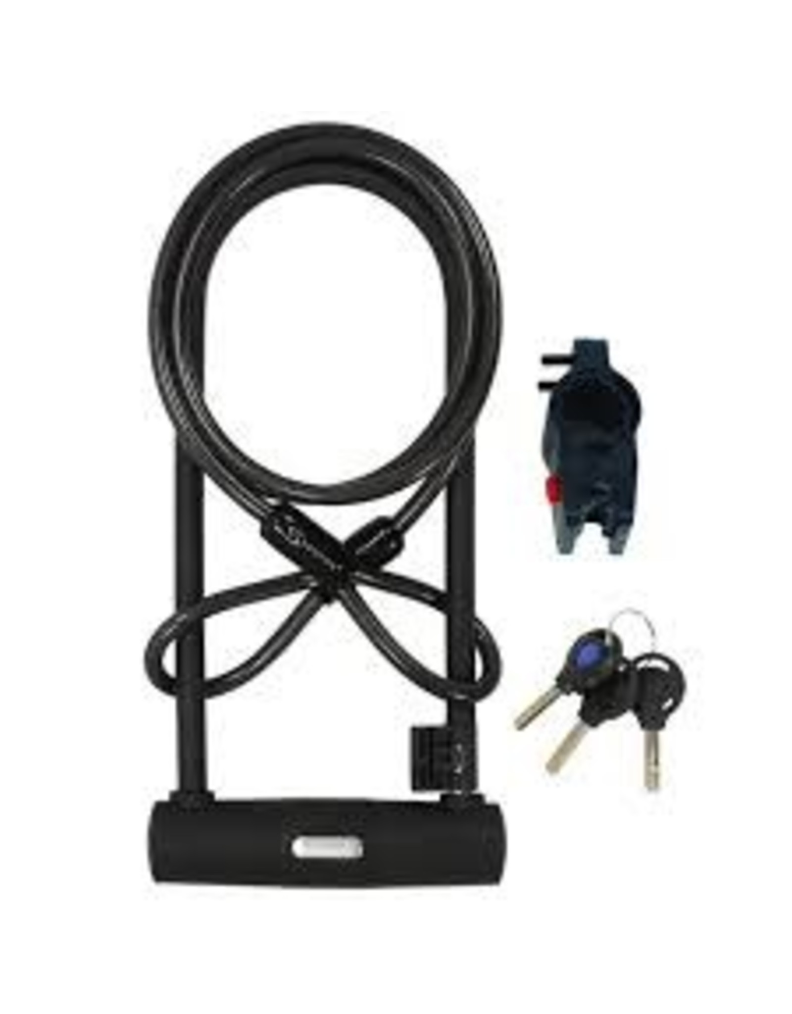 Lock Serfas U-Lock W/Bracket And Cable