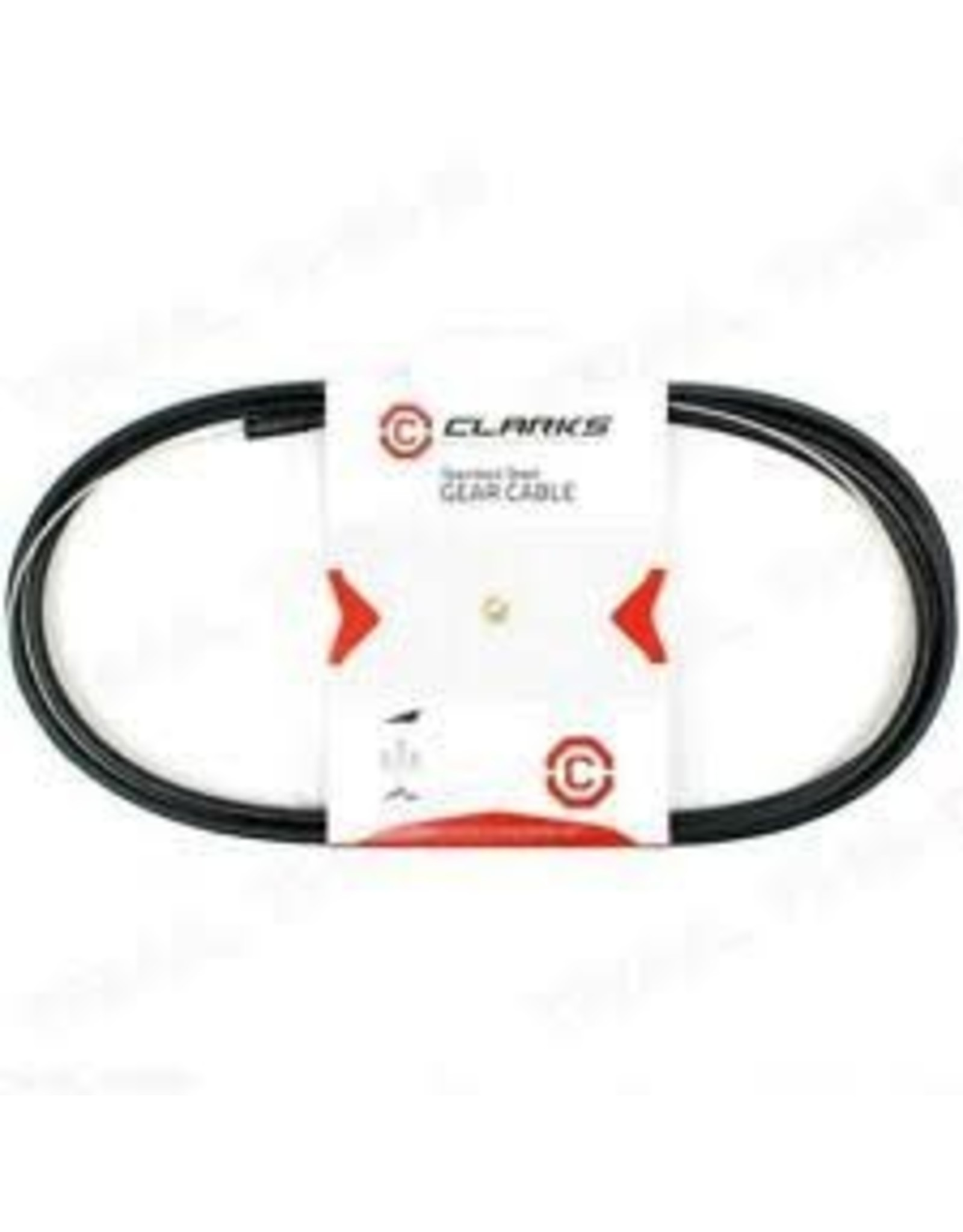 CLARKS Cable Kit Derailleur  SS w/Blk 4mm SIS Housing Clarks