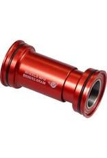 Wheels Manufacturing Bottom Bracket WMF BB86/92 Press-Fit BB SRAM Ceramic Red