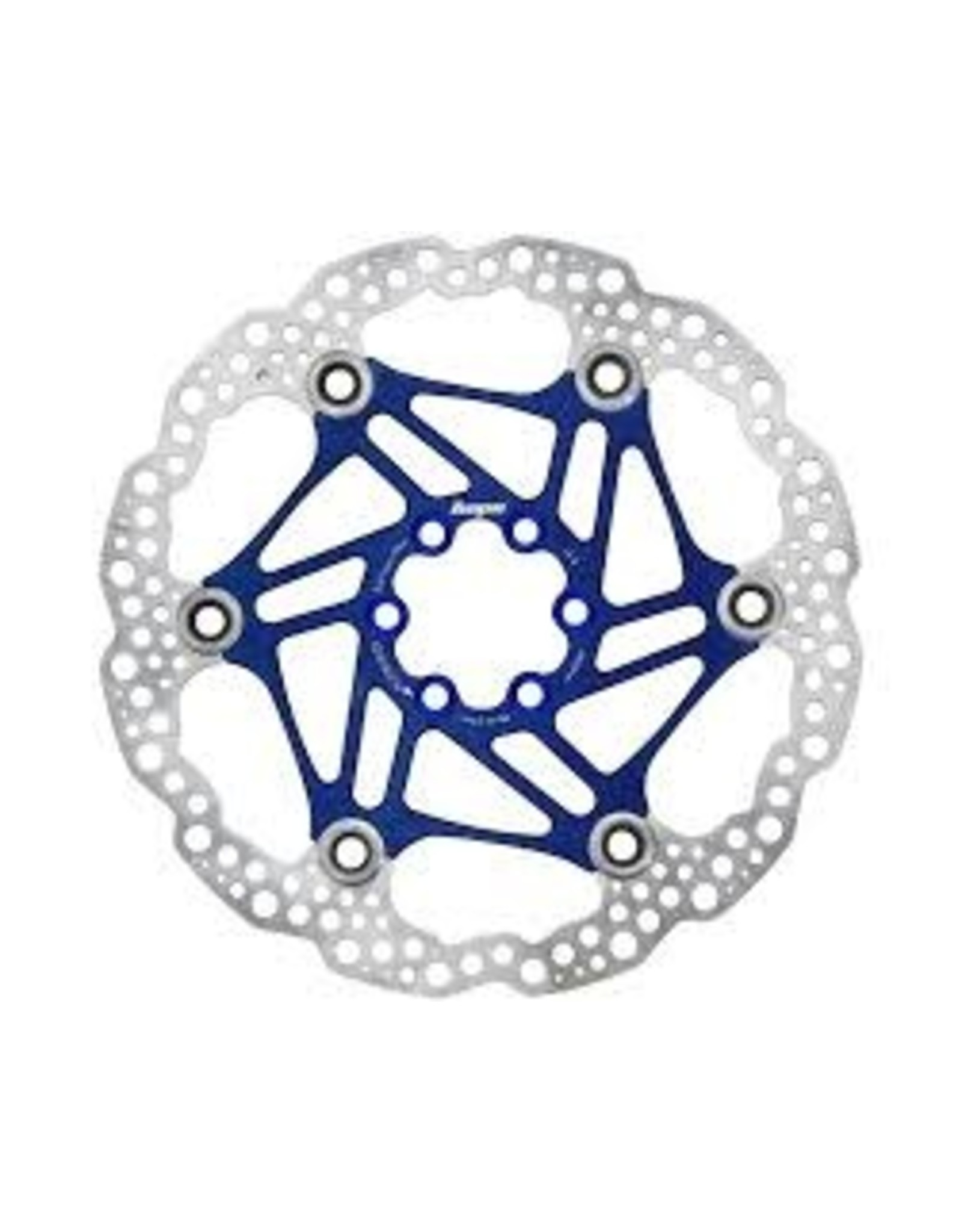 Hope Brake Rotor Hope 200mm Blue Floating 6 Bolt
