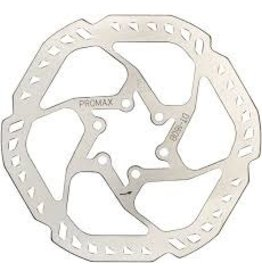 Promax Brake Rotor Promax E1 Endurance 180mm, 6-Bolt, Silver