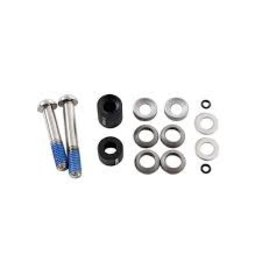 Avid Post Spacer Set - 20 S (Front 180/Rear 160), Includes Stainless Caliper Mounting Bolts (CPS & Standard)
