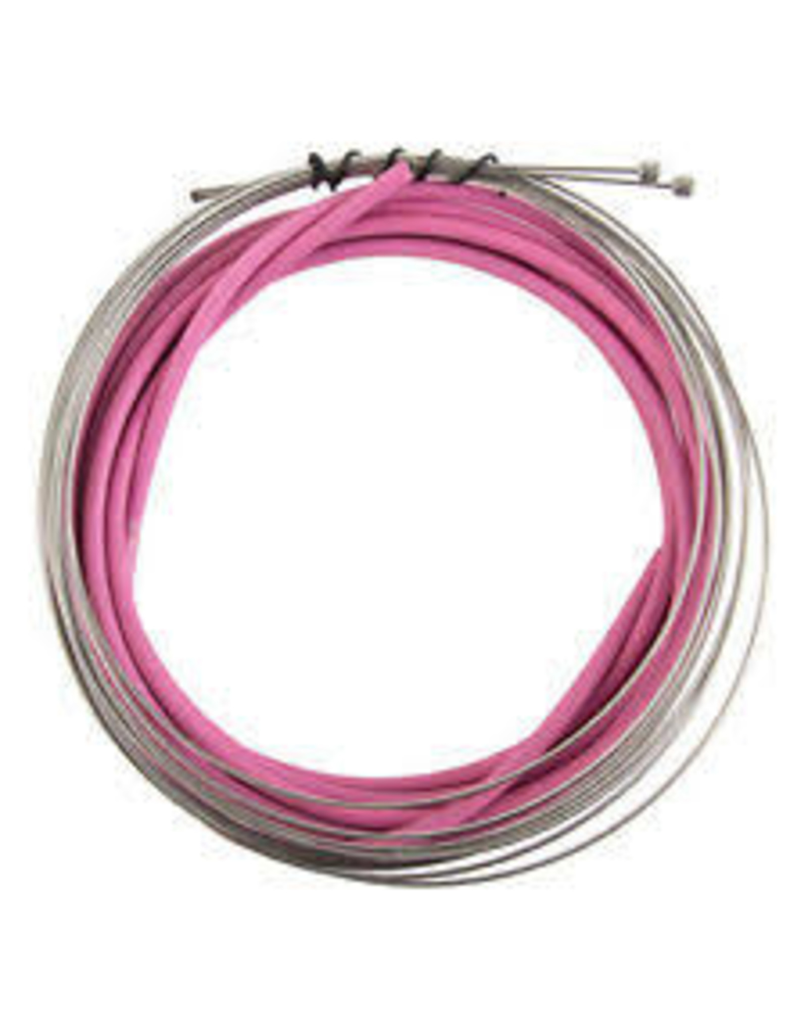Housing & Cable Set Brake Clk Kit F&R SS Spt Rd/Mt Pnk