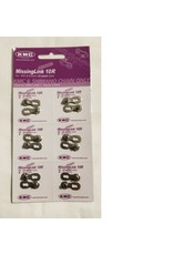 KMC Chain Kmc Missing Link 10 fits 5.9mm  Card of 6 single