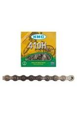 "KMC Chain KMC 410H-NP 1/8"" 98L Silver Heavy Duty"