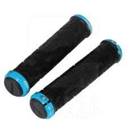 Giant Grip Giant Tactal Double Lock-On Grips 135mm Black/Blue
