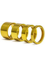 Headset Spacer XRD 3 Pack Gold