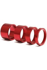 Headset Spacer XRD 3 Pack Red