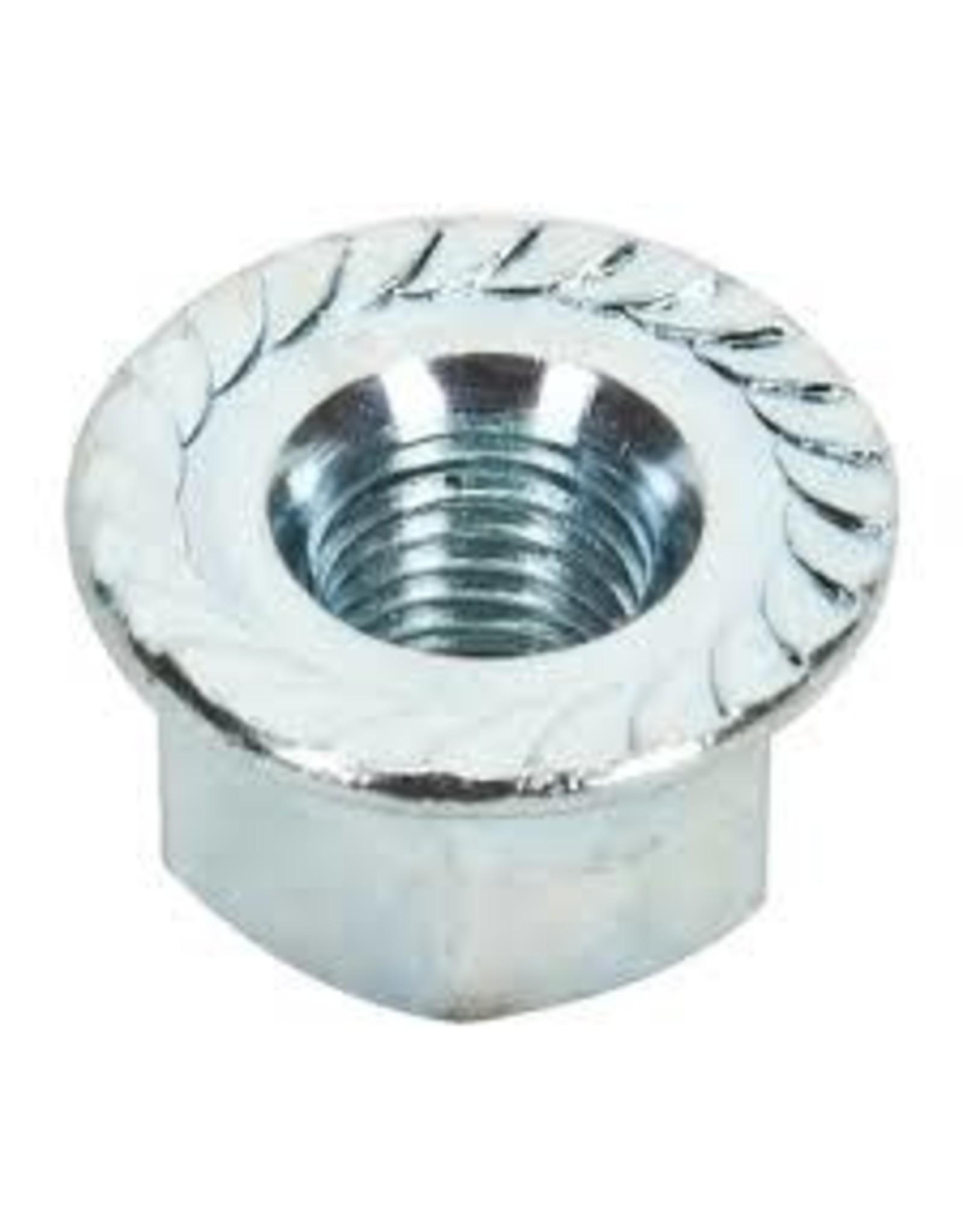 Hub Axle Nut WM Rear 3/8x26 Flanged