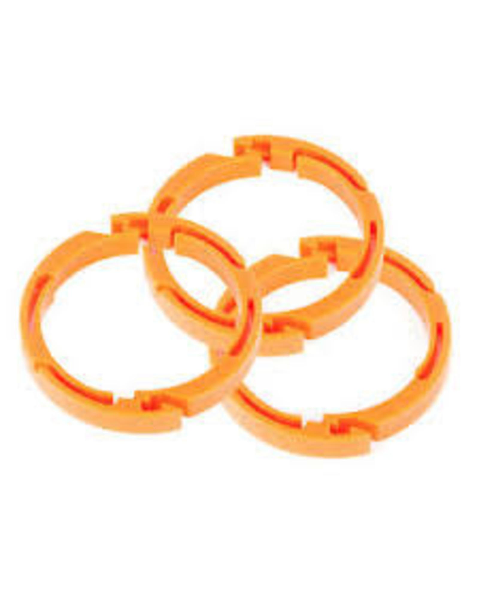 "Fox FOX Float X2 Volume Spacer Kit, 3 Pairs: Clip-in, Plastic, 0.25"""