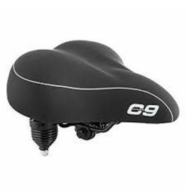 CLOUD-9 Saddle C9 Cruiser Anatomic Soft Vinyl W/ Springs