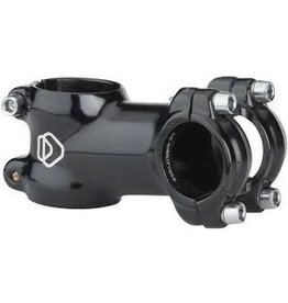"Dimension Stem Dimension Threadless 90mm 125 Degree Black 1-1/8"" 25.4"
