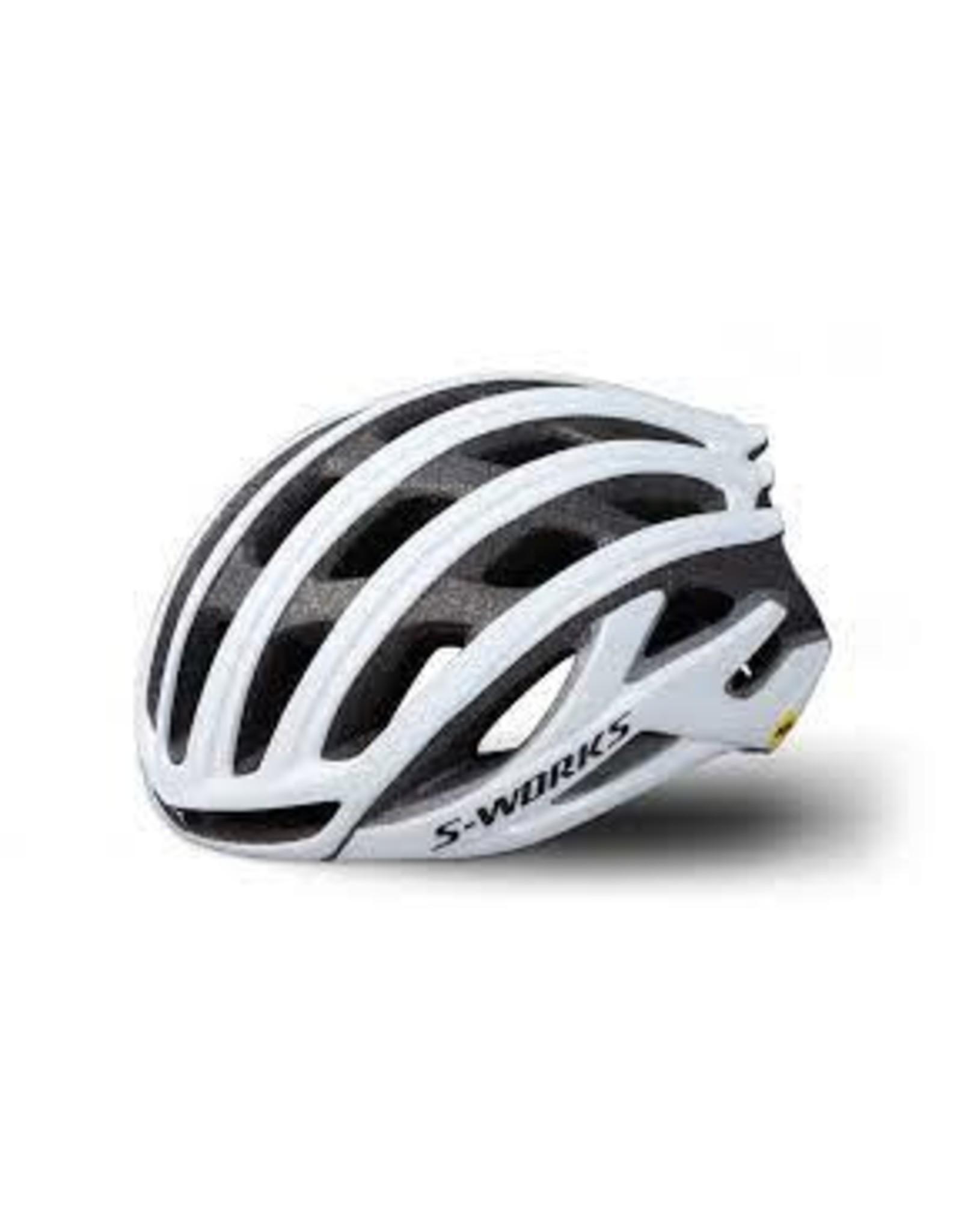 Specialized Helmet Spec SW Prevail II W/Angi Mips  White Medium