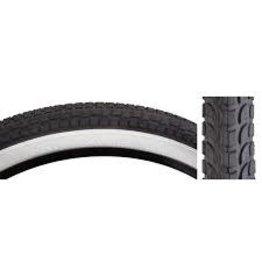 SUNLITE Tire 26x2.125 Blk/Wht Cuiser K927w/Sun Logo Komfort