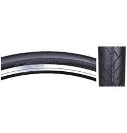 SUNLITE Tire 27 x 1 1/4 Blk Flatshield Wire Belted
