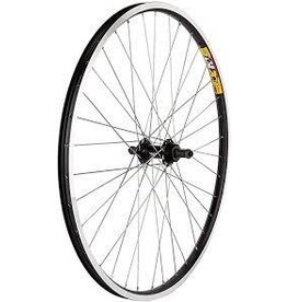 "Sta-Tru Wheel 26x1.50 Rear Black Alloy 3/8"" 6/7s FW 36h"