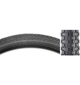 SUNLITE Tire 26x1.75 BK/BK Raised Ctr K52 WIRE