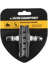 Jagwire Brake Pad Jagwire Mountain Sport Smooth Post 70mm Pad, Black