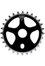 BLACK OPS Chainring Bk-Ops 25T Micro Drive Alloy Black