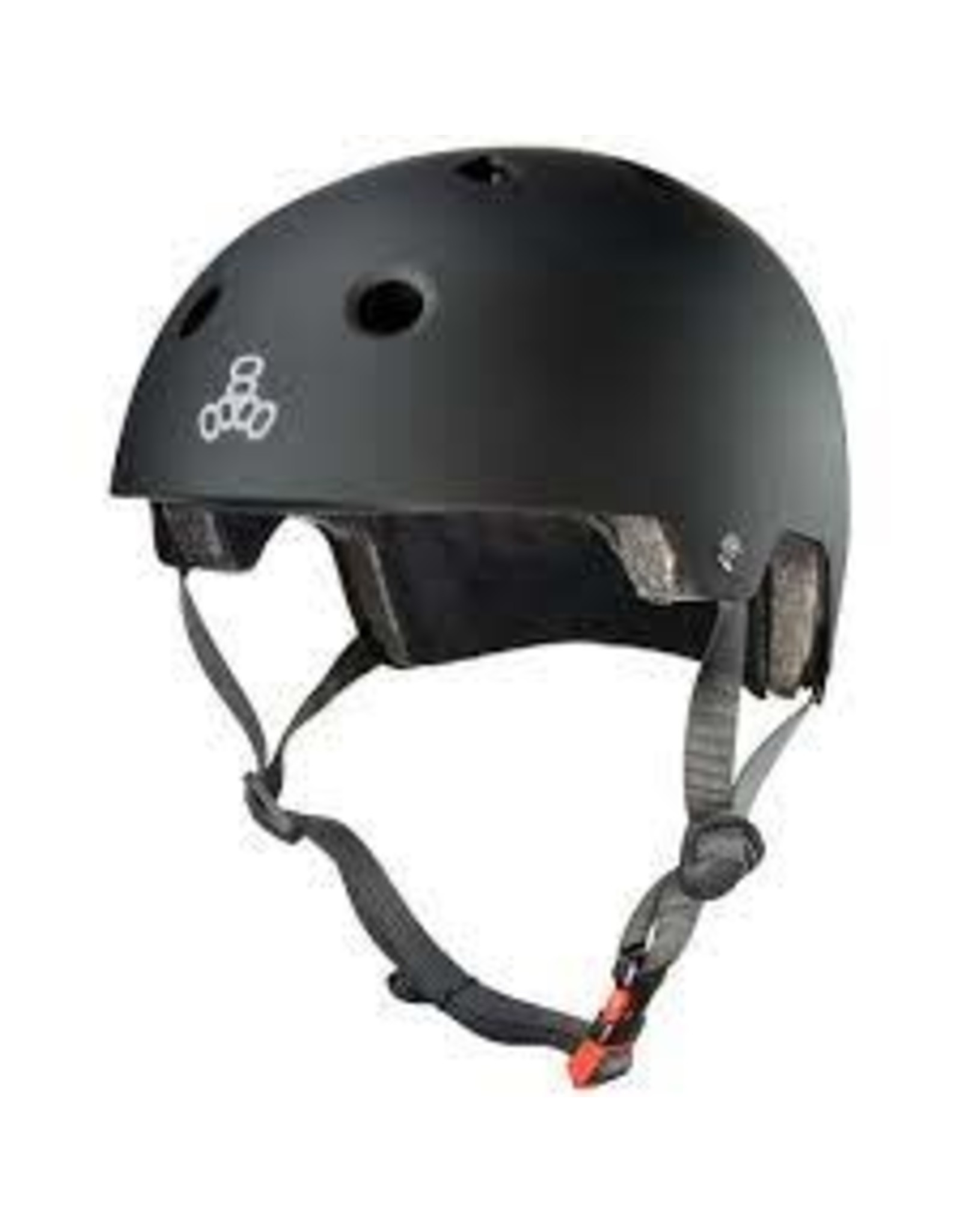 TRIPLE EIGHT Helmet Triple8 Dual Cert w/EPS Sm-Md Black