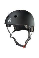 TRIPLE EIGHT Helmet Triple8 Dual Cert w/EPS Lg-XL Black
