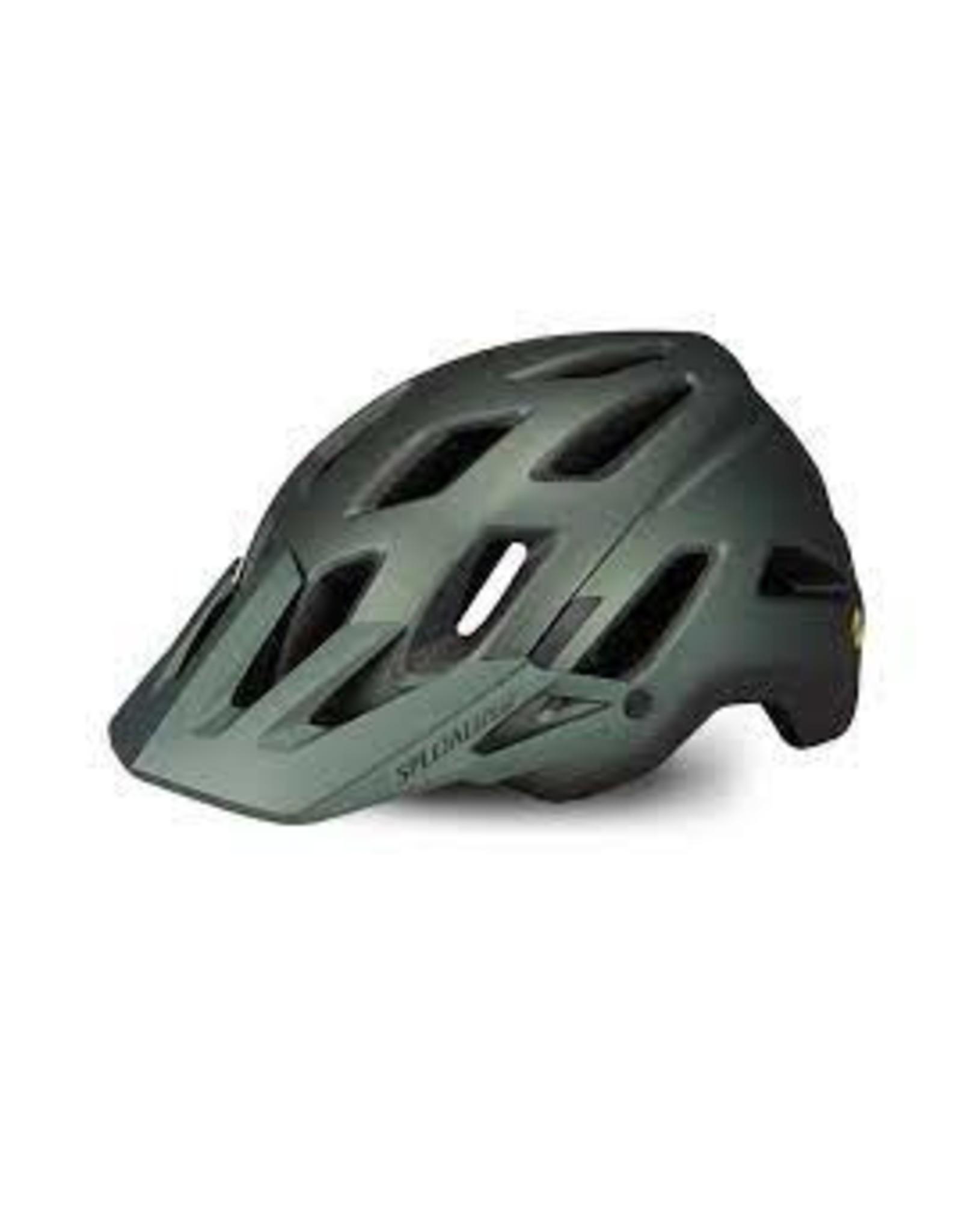 Specialized Helmet Spec Ambush GrnMet ANGI MIPS Medium