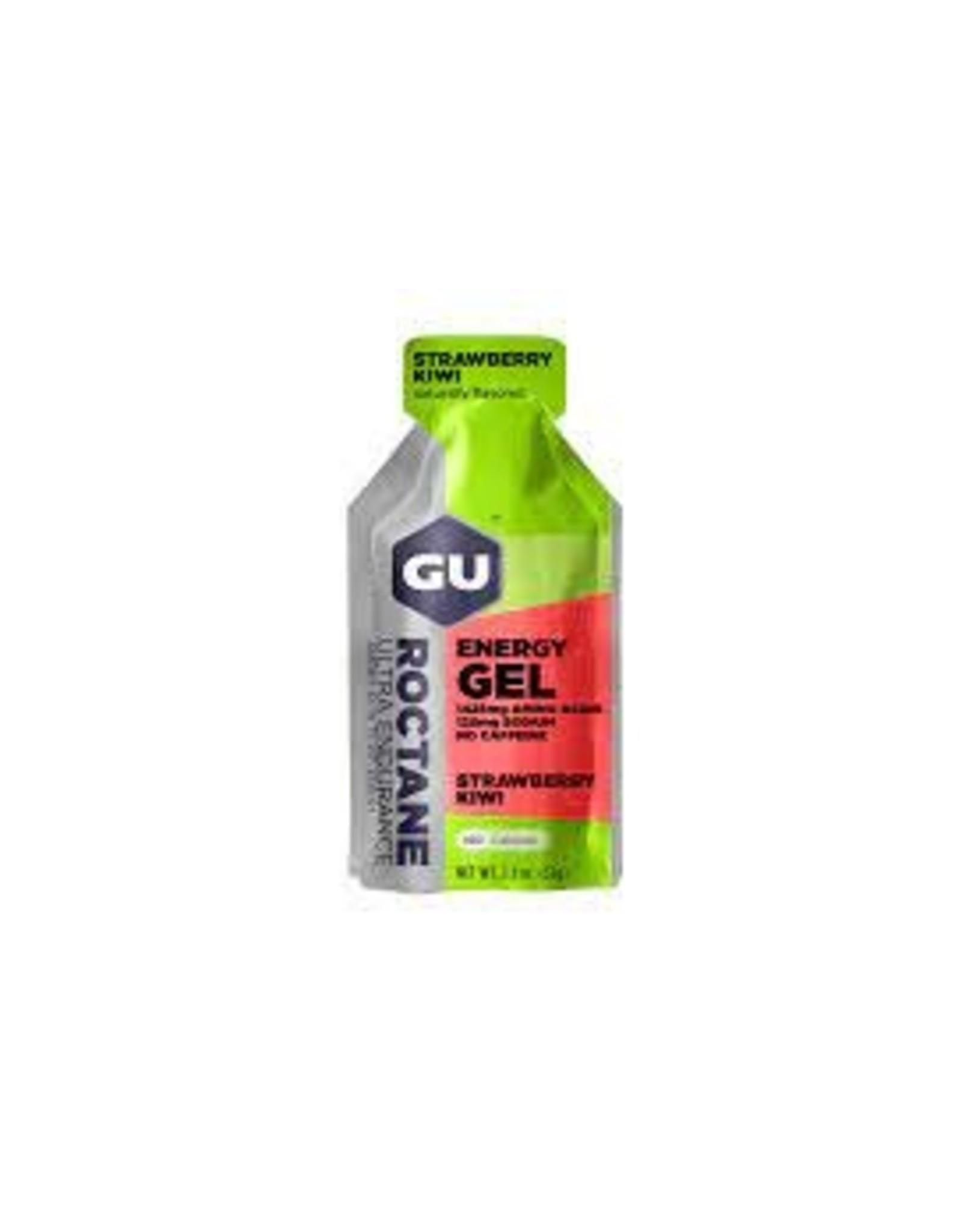GU Energy Labs GU Roctane Strawberry Kiwi Box of 24 single