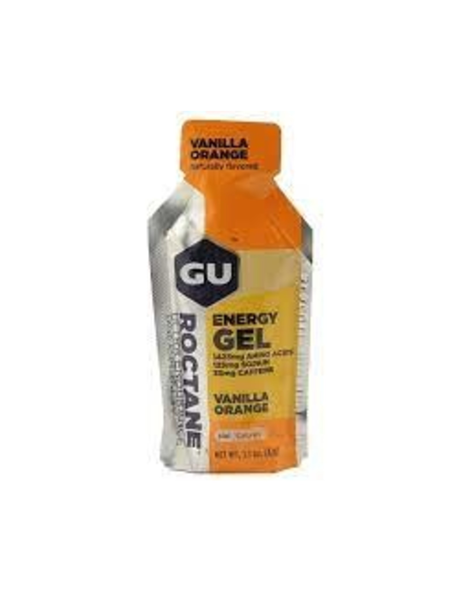 GU Energy Labs GU Roctane Vanilla Orange Box of 24 single