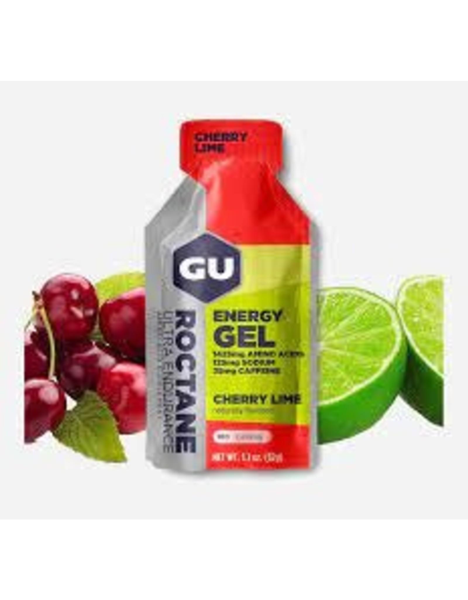 GU Energy Labs GU Roctane Cherry Lime Box of 24 single