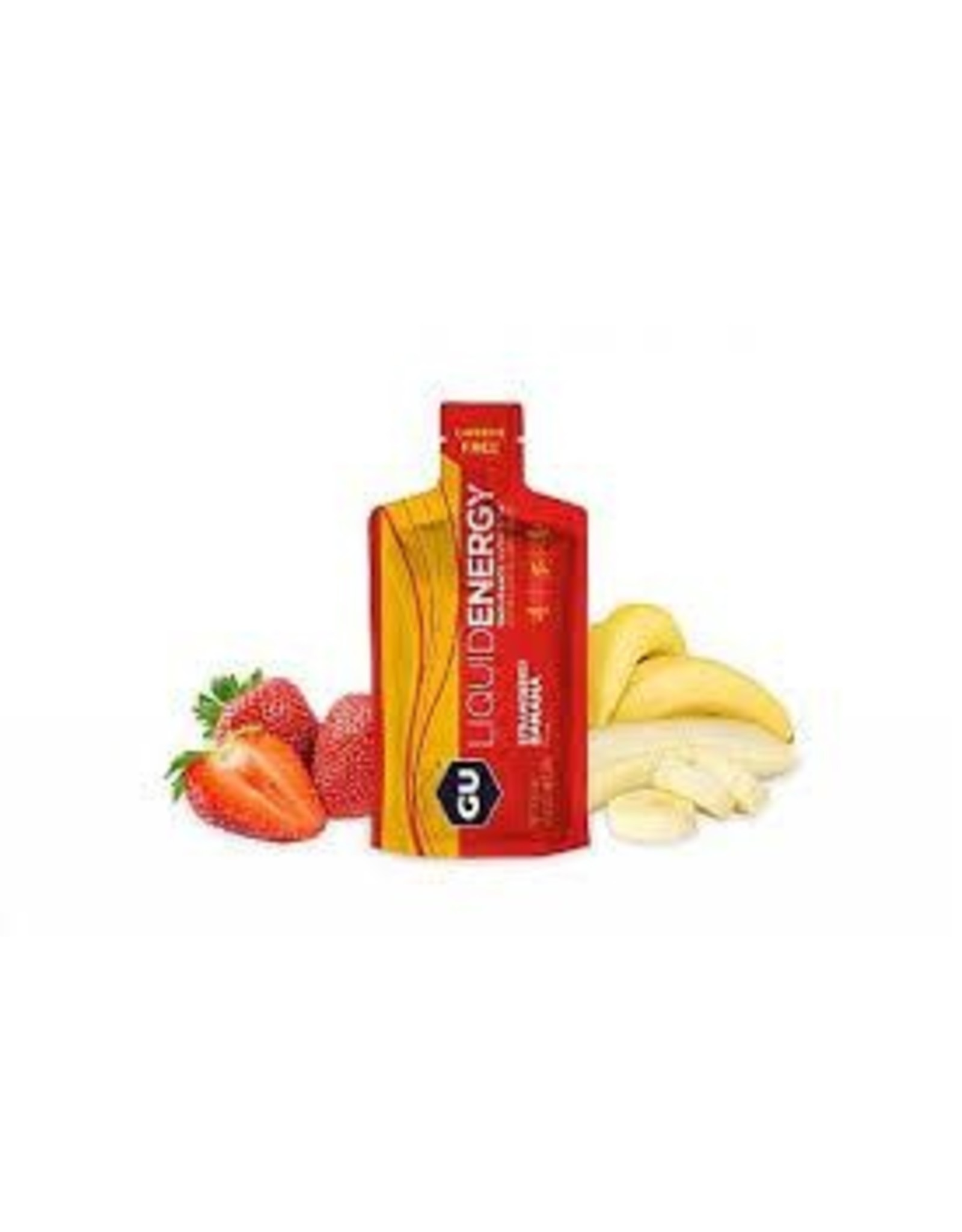 GU Energy Labs GU Liquid Energy Strawberry Banana Box of 12