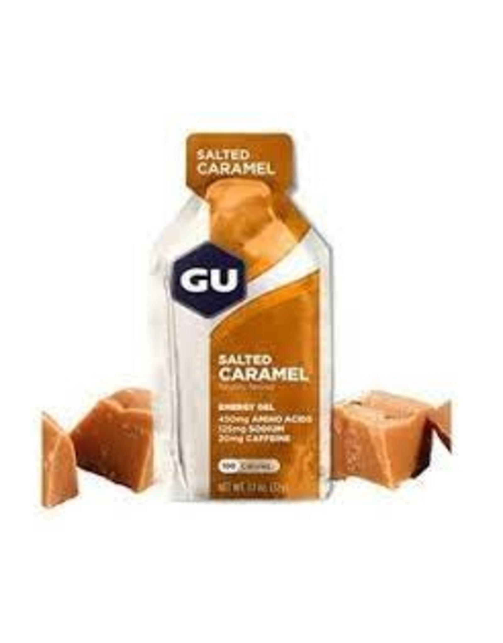GU Energy Labs GU Energy Gel: Salted Caramel Box of 24