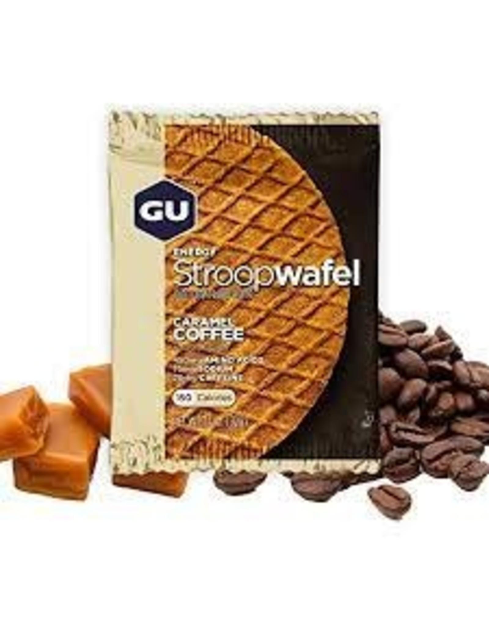 GU Waffle Caramel Coffee Box of 16