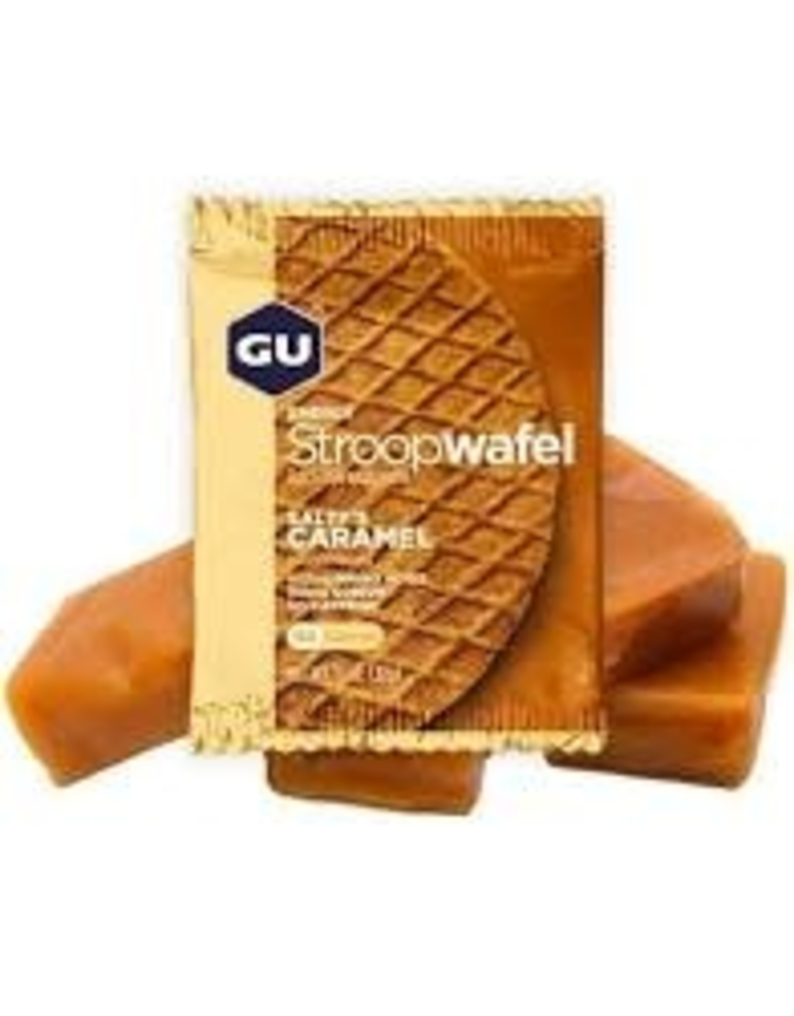 GU Waffle Salty's Caramel Box of 16 single
