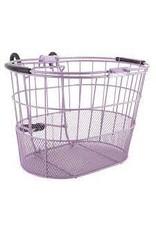 Basket Ft Wire/Mesh Oval Purple Lift Off