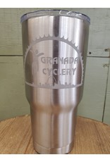 Cup Stainless RTIC Granada Etched