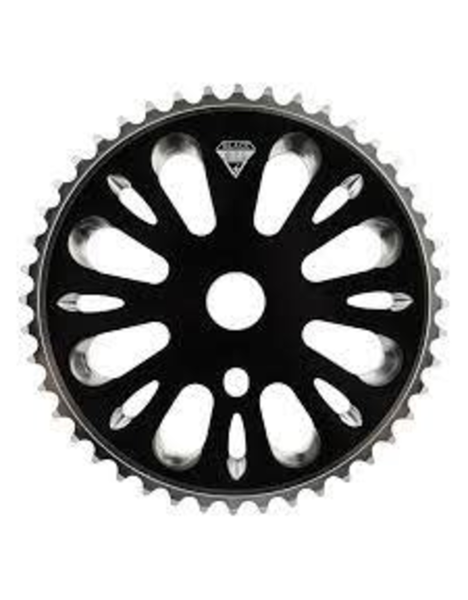 BLACK OPS Chainring Blk-Ops 1pc 44T 3/32 STL BK