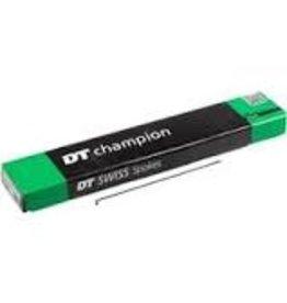 DT Swiss Spoke DT Swiss Champ 180mm, J-bend, Black, Box of 100