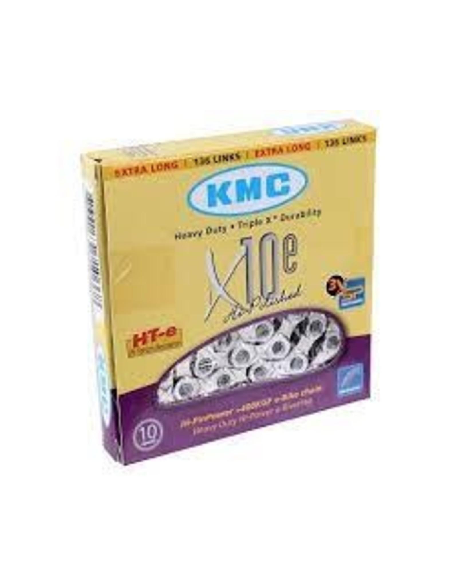 KMC Chain KMC X10e-Sport eBike Chain: 136 Links, Silver