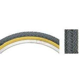 Kenda Tire Kenda 20x1.75 K55 Street Bmx  Black/Tan