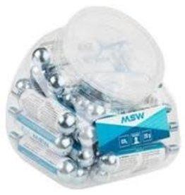 MSW Pump CO2 MSW Cartridge: 20g, POP Jar of 30