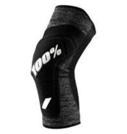 100% Knee Guard Ridecamp Large Heather/Black