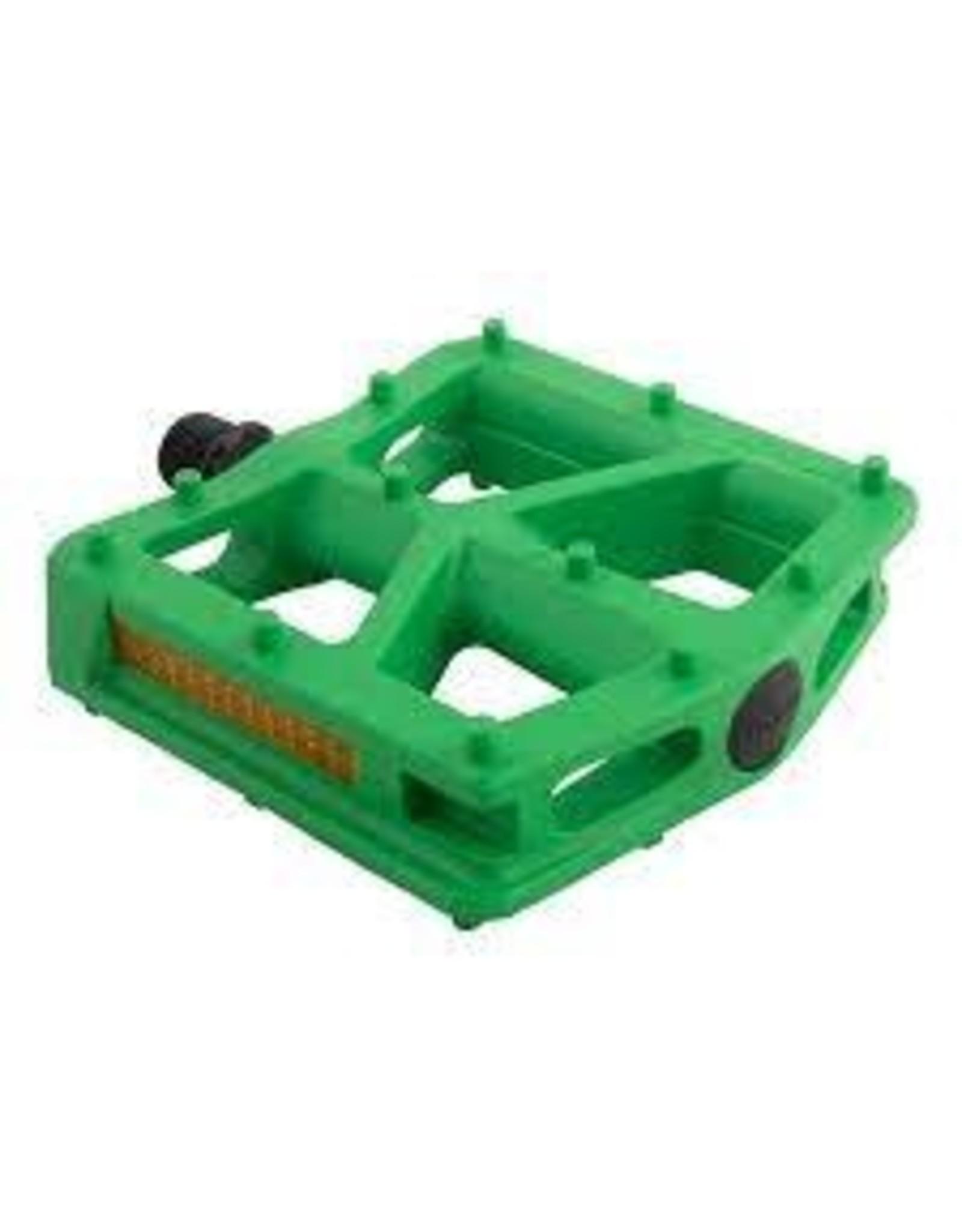 Pedal Bk-Ops T-Bar 9/16 Green