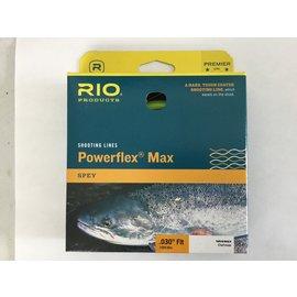 Rio POWERFLEX MAX SHOOTING LINE .030 FLOATING CHARTREUSE