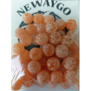 NF&T Pro Pack Beads Frosted Orange UV 10mm 50