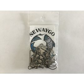 Newaygo Fly & Tackle NF&T Snap Swivel #10