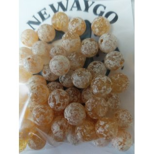 NF&T Pro Pack Beads Brown Trout Egg UV 10mm 50